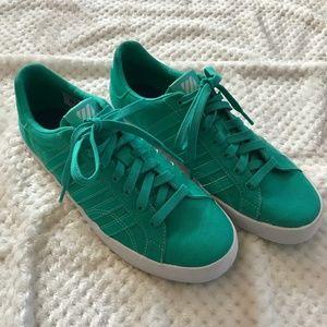 Teal K-Swiss Court Sneakers sz 8